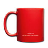 The Grand Tour Classic Coffee Mug - red