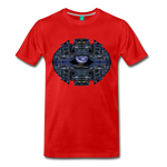 Apollo Instrument Panel Abstract Premium T-Shirt - red
