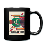 The Grand Tour Classic Coffee Mug - black