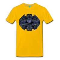 Apollo Instrument Panel Abstract Premium T-Shirt - sun yellow