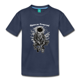 Space Travel Astronaut Kids' Premium T-Shirt - navy