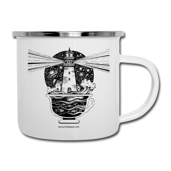 Celestial Light Beacon in a Cup - white