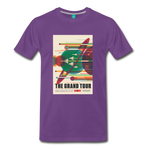 Visions of the Future: The Grand Tour Premium T-Shirt - purple