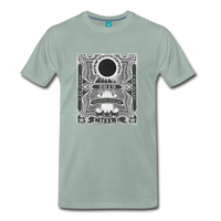 2019 Eclipse in Chile Men's Premium T-Shirt - steel green