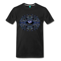 Apollo Instrument Panel Abstract Premium T-Shirt - black
