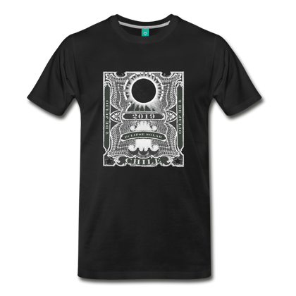 2019 Eclipse in Chile Men's Premium T-Shirt - black