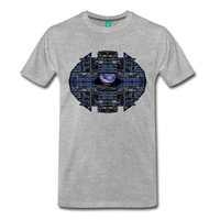 Apollo Instrument Panel Abstract Premium T-Shirt - heather gray