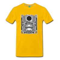 2019 Eclipse in Chile Men's Premium T-Shirt - sun yellow