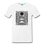 2019 Eclipse in Chile Men's Premium T-Shirt - white