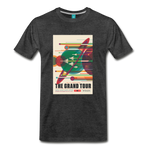 Visions of the Future: The Grand Tour Premium T-Shirt - charcoal gray