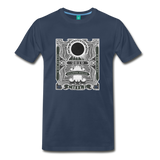 2019 Eclipse in Chile Men's Premium T-Shirt - navy