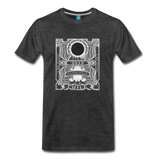 2019 Eclipse in Chile Men's Premium T-Shirt - charcoal gray