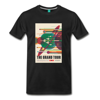 Visions of the Future: The Grand Tour Premium T-Shirt - black