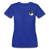 Women's Moonlight Cityscape Jersey - royal blue
