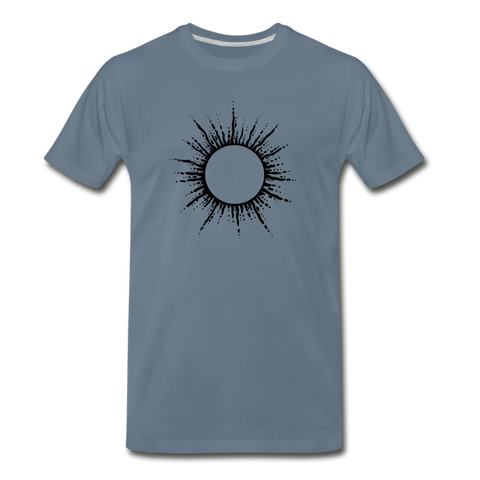 VOS Ring of Fire T Shirt - steel blue