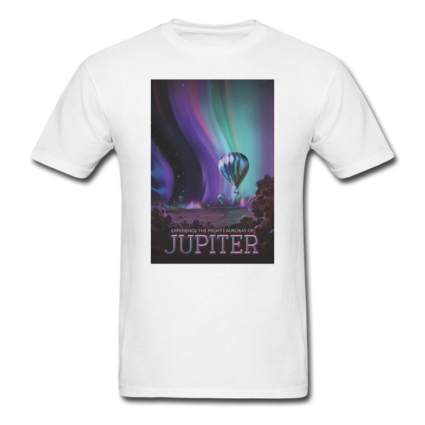 Visions of the Future: Jupiter Men's T-Shirt - white