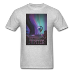 Visions of the Future: Jupiter Men's T-Shirt - heather gray
