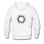 Ring of Fire Eclipse Hoodie - white