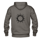 Ring of Fire Eclipse Hoodie - asphalt gray