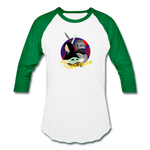 The Child My Two Dads - Baseball T-Shirt - white/kelly green