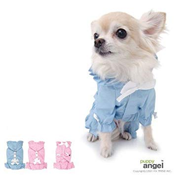 Puppy Angel Pretty Bow Rain Overall PA-CT038