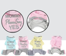 Puppy Angel Mommy Please Say Yes Overall PA-OR135