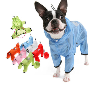 Puppy Angel Transparent Raincoat Overall PA-CT174 for Boys