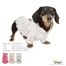 Puppy Angel polkadot rain jacket PA-CT030