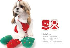 Puppy Angel Santa Dress PA-DR062