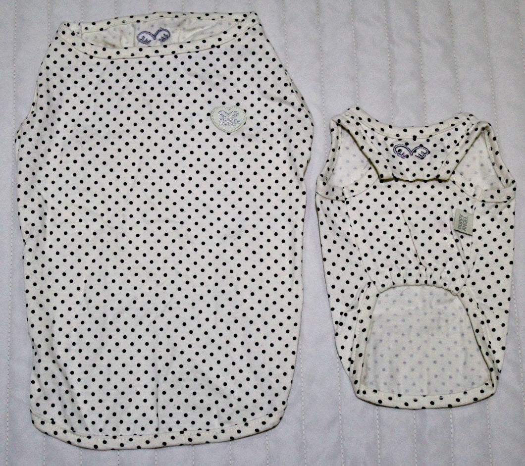 Puppy Angel PolkaDot Sleeveless Tshirt PA-TS222 Dots