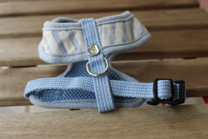 Puppy Angel Baby Blue Heart Harness PA-HA009