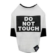 Do Not Touch Rough Cut Layered Round T-shirt PA-TS505