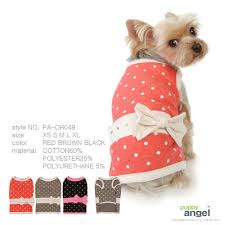 Puppy Angel Quilted PolkadotDress PA-DR049