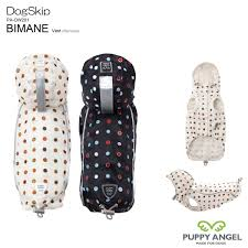 Puppy Angel BIMANE - URBAN OUTDOOR Vest (raincoat), dot print PA-OW201