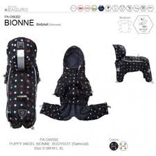 Puppy Angel BIONNE - URBAN OUTDOOR bodysuit (raincoat), dot print PA-OW202