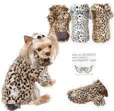 Puppy Angel Leo Fur Coat PA-OW210