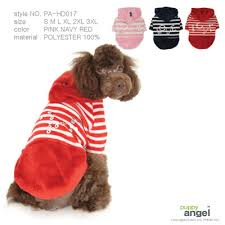 Puppy Angel Dinkey Diamonds Stripey Hoody PA-HD017