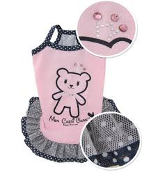 Puppy Angel Bear Dolly Dress PA-DR104