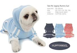 Puppy Angel Take Me Jogging Mummy Suit PA-OR038