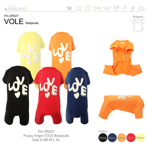 Puppy Angel Love Bodysuit PA-OR018