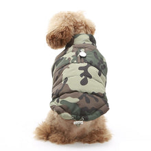 Puppy Angel Camouflage Padded Vest PA-OW248