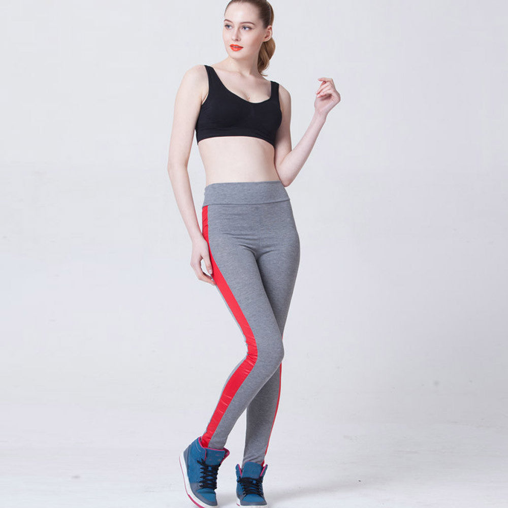 womens sports clothing High Waist Yoga Running Gym suits fitness woman legging yoga Athletic Trouser #E0