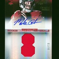 MIKE GLENNON 2013 PANINI ABSOLUTE ROOKIE PREMIERE MATERIALS JERSEY AUTO RC 01/99