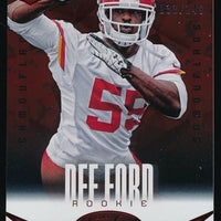 DEE FORD 2014 PANINI CERTIFIED CAMO RED ROOKIE CARD 033/149 *KANSAS CITY CHIEFS*