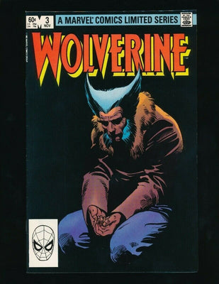 WOLVERINE LIMITED SERIES #3 (MARVEL COMICS, 11/1982) VERY RARE *UNPRESSED*