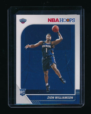 ZION WILLIAMSON 2019-20 HOOPS #258 RC *NEW ORLEANS PELICANS*