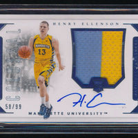HENRY ELLENSON 2016 NATIONAL TREASURES COLLEGIATE COLOSSAL RC AUTO PATCH 58/99