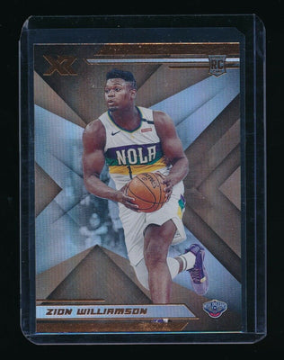 ZION WILLIAMSON 2019-20 PANINI CHRONICLES BRONZE XR RC *NEW ORLEANS PELICANS* A
