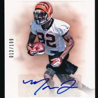 MARVIN JONES 2012 PANINI PRIME SIGNATURES AUTO ROOKIE CARD 012/199 *BENGALS*