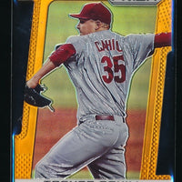 TREVOR CAHILL 2013 PANINI PRIZM PRIZMS ORANGE DIE-CUT #127 47/60 DIAMONDBACKS